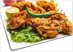Besan is used in the preparation of traditional dishes like pakoras in India