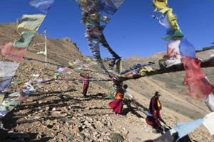 Photos: As winter approaches, Himalayan Buddhists prepare for isolation