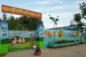 The Government Primary School, Ghulal, at Samrala.