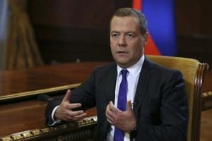 Dmitry Medvedev sternly warned the United States against ramping up sanctions