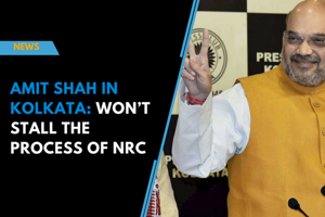 Amit Shah in Kolkata: Won't stall the process of NRC