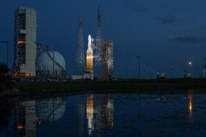 """NASA has said  that the launch was """"scrubbed"""" and a second attempt will be made on Sunday morning."""