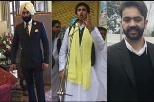 Nirvan Singh, Arjun Badal and Mehtab Khaira.