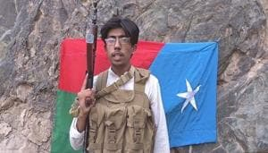 Watch: A young Baloch fighter dares China before blowing himself in a suicide...