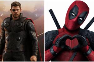 Thor actor Chris Hemsworth and Ryan Reynolds who plays Deadpool want to swap roles, because of their kids.