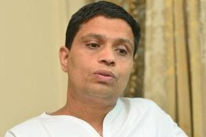 The 30-year-old man was accused of running a fake social media account in the name of Acharya Balkrishna, the co-founder of Patanjali Ayurveda (in photograph).