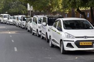 App-based cab operators such as Ola said they implemented the order starting Sunday.