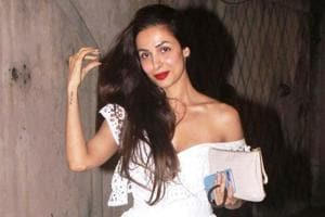 Malaika Arora and Shraddha Kapoor's super fashionable frock is from Zimmermann. See photos below. (Instagram)