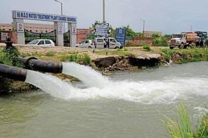 The GMDA plans to build a culvert that will connect water pipelines with the Chandu Budhera plant.