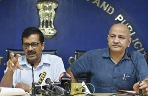 Delhi chief minister Arvind Kejriwal and his deputy Manish Sisodia were charged with planning the conspiracy to assault chief secretary Anshu Prakash by calling him to the CM's residence for a late night meeting.