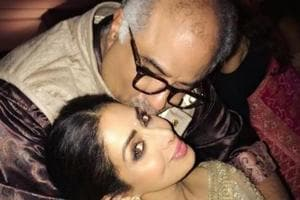 Sridevi and BoneyKapoor were blissfully in love, even after many years of marriage.