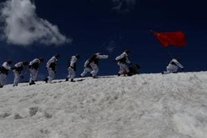 In June, Chinese military units stationed in Tibet carried out a drill, to test their logistics, armament support capabilities as well as military-civil integration in Tibet.