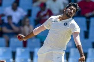 Jasprit Bumrah made his Test debut for India against South Africa in January.