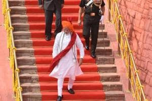 Prime Minister Narendra Modi's Independence Day 2018 style is a masterclass in festive Indian dressing.
