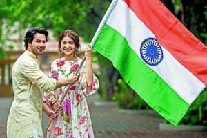 Varun Dhawan and Anushka Sharma talk about their film Sui Dhaaga and celebrating Independence Day together.