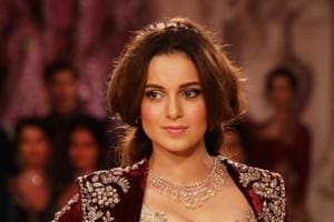 Kangana Ranaut says she trained a lot in sword fighting and horse riding for her role in Manikarnika.