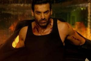 Satyameva Jayate movie review: Even John Abraham's sincerity isn't enough to save it from becoming a parody of itself.