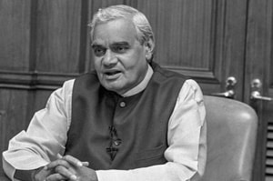 Former prime minister Atal Bihari Vajpayee passed away in New Delhi on Thursday.
