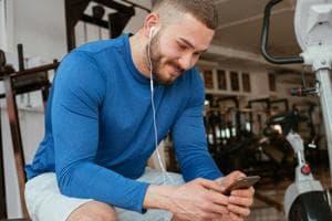 Gym etiquette: Always use earphones and headphones.
