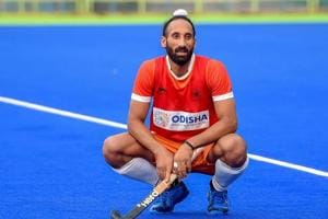 Bengaluru: Indian Hockey player Sardar Singh during a practice session ahead of Asian Games 2018, in Bengaluru on Friday, Aug 3, 2018.