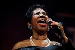 Singer Aretha Franklin performs at the Candie's Foundation 10th anniversary Event to Prevent benefit New York May 3, 2011.