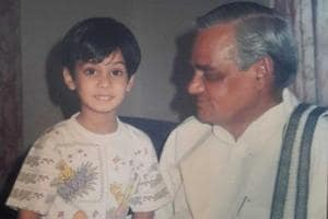 There are scores of photos of former Prime Minister Atal Bihari Vajpayee with Kanha, playing, celebrating birthdays, and generally having a good time.