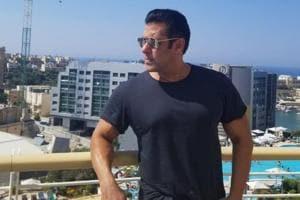 Salman Khan chills in Malta, where he is shooting Bharat.