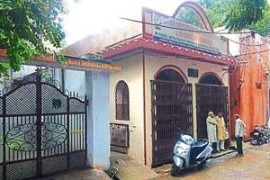 Former prime minister Atal Bihari Vajpayee's house in Kamal Singh ka Bagh locality in Gwalior.