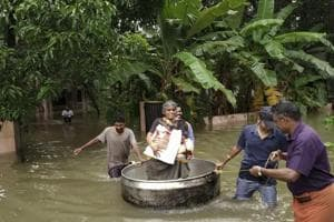 Photos: Continuous rain and floods batter Kerala, over 160 lives lost