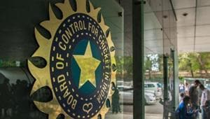 A file of image of the BCCI logo.
