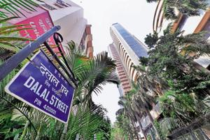 The BSE Sensex had lost 188.44 points in the previous session.