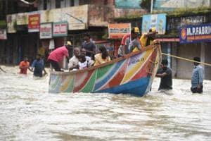 Kerala floods photos: State braces for more rains