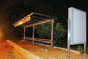 Police have set up teams and are trying to obtain CCTV footage of two bus Q-shelters to trace the culprits.