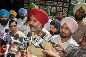 Newly-appointed Leader of Opposition in Punjab Assembly Harpal Singh Cheema on August 2.