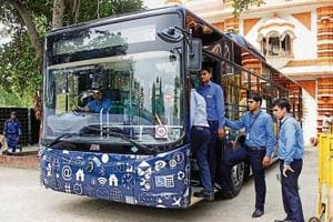 Though the GMDA has missed several deadline for launching the city bus service, GMDA chief executive officer V Umashankar assured that the buses and cards will be launched on August 28.