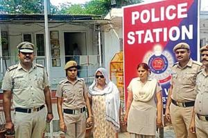Basiran, who is considered by the police to be the ringleader of a crime syndicate, had control over three government borewells in Sangam Vihar.