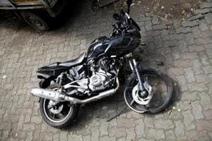 The man's bike was lying on ground beside him at Shahgarh Bulj area, around 200 km from Jaisalmer, and his water bottle was empty.