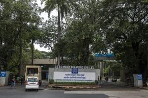 Main gate of the IIT Bombay Powai in Mumbai, India, on Tuesday, June 26, 2018.