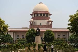 Supreme Court building in New Delhi on July 24.