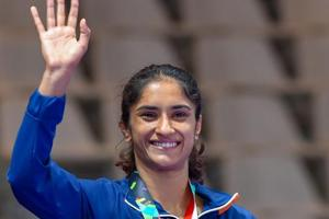 Asian Games 2018: Vinesh Phogat wins gold on Day 2