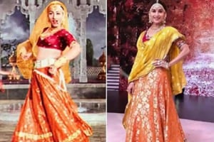 Madhuri Dixit channelled Madhubala in a performance on Dance Deewane.