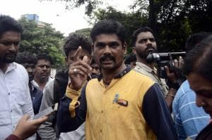 Sachin's elder brother Pravin Andure, who works as a petrol pump attendant in Aurangabad, said, Sachin was arrested on cooked up charges.