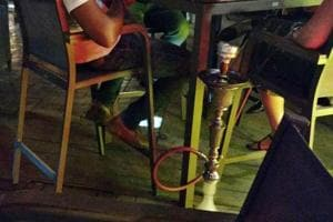 Hookah parlours in the area were raided and action was initiated against several of them. Restaurants and eateries operating beyond prescribed time limit were also targeted.