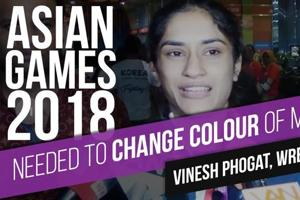 'Needed to change colour of medal,' says Vinesh Phogat after Asian Games...