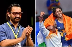 Aamir Khan has congratulated Vinesh Phogat on her big win at the Asian Games.