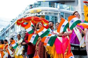 Organisers cited growth in the size of the Indian community due to immigration, better awareness of the event and a sense of belonging as reasons for the rise in interest.