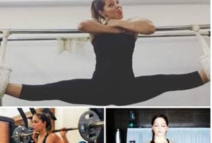 Weight loss and diet tips:  Deanne Panday can do a split, lift heavy weights and kick-box.