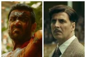 John Abraham in Satyameva Jayate and Akshay Kumar in Gold: Both films have been very successful at the box office.