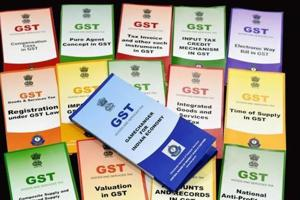 Booklets on GST were distributed by the Central Board of Direct Taxes at a function organised to celebrate GST Day, in New Delhi on July 1.