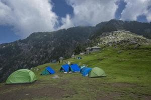 Photos: Atop Triund, an insight into the Himalayan waste problem
